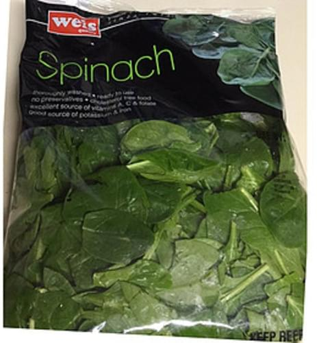 Weis Quality Spinach - 85 g
