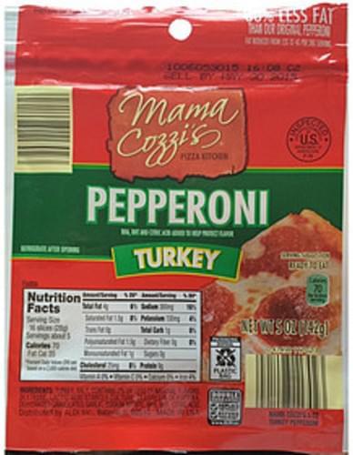 Mama Cozzi's Pepperoni Turkey - 28 g
