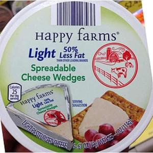 Happy Farms Spreadable Cheese Wedges