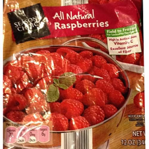 Season's Choice Raspberries - 140 g