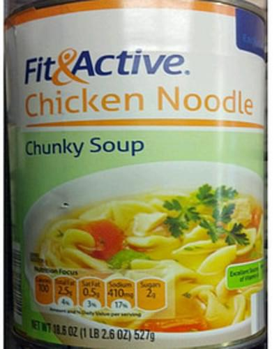 Fit & Active Chicken Noodle Chunky Soup - 245 g
