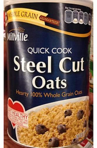 Millville Quick Cook Steel Cut Oats - 40 g