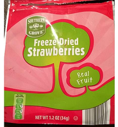 Southern Grove Freeze Dried Strawberries - 34 g