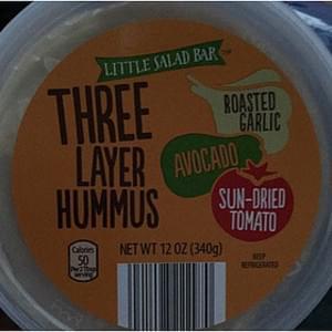Little Salad Bar Three Layer Hummus Sun-Dried Tomato