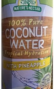 Nature's Nectar Coconut Water with Pineapple