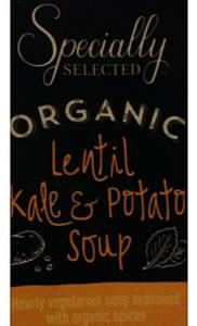 Specially Selected Organic Lentil Kale & Potato Soup