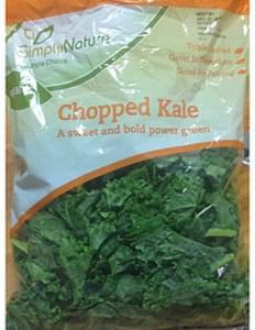 Simply Nature Chopped Kale