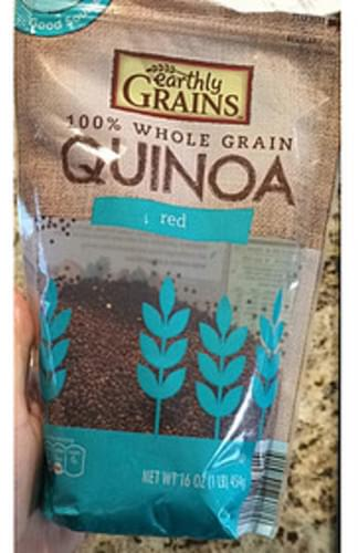 Earthly Grains Red Quinoa - 43 g