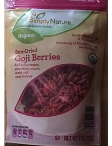 Simply Nature Organic Sun-Dried Goji Berries