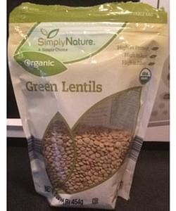Simply Nature Green Lentils