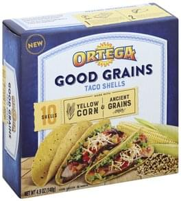 Ortega Taco Shells Yellow Corn & Ancient Grains
