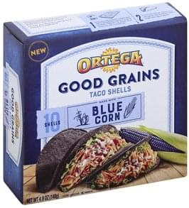 Ortega Taco Shells Blue Corn