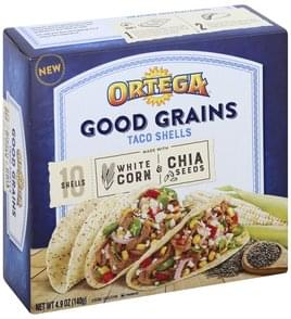 Ortega Taco Shells White Corn & Chia Seeds