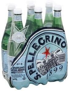 San Pellegrino Mineral Water Natural, Sparkling