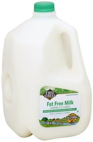 First Street Fat Free Milk - 1 gl