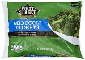 First Street Broccoli Florets