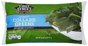First Street Collard Greens Chopped