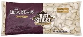 First Street Lima Beans Large