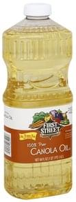 First Street Canola Oil 100% Pure