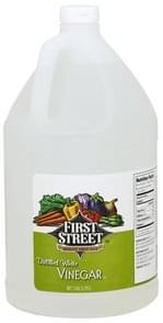 First Street Vinegar Distilled, White