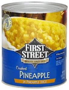 First Street Pineapple Crushed, Pineapple Juice