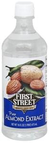 First Street Almond Extract Pure