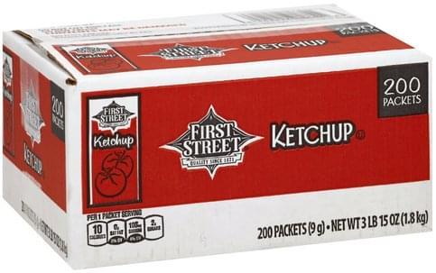 First Street Ketchup - 200 ea