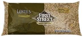 First Street Lentils