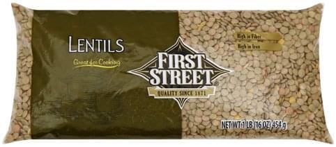 First Street Lentils - 1 lb