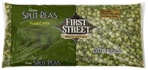 First Street Split Peas Green