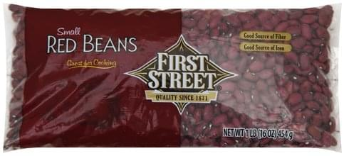 First Street Small Red Beans - 1 lb