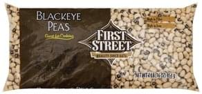 First Street Blackeye Peas