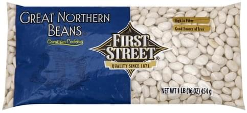 First Street Great Northern Beans - 16 oz