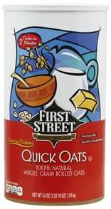 First Street Quick Oats