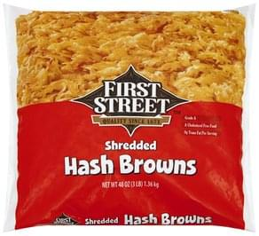 First Street Hash Browns Shredded