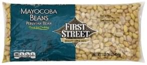First Street Mayocoba Beans