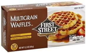 First Street Waffles Multigrain