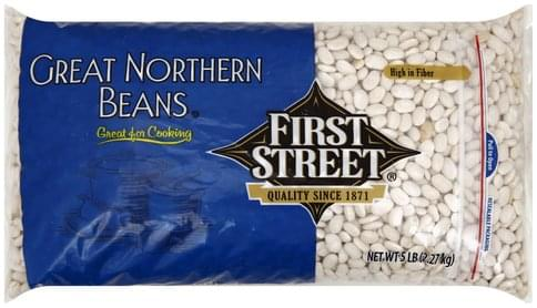 First Street Great Northern Beans - 5 lb
