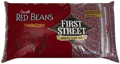 First Street Small Red Beans - 5 lb