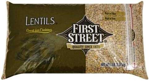 First Street Lentils - 5 lb