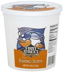 First Street Baking Soda Pure