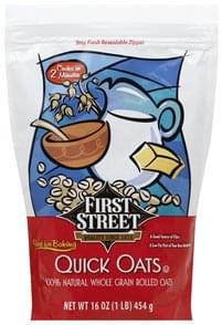 First Street Quick Qats