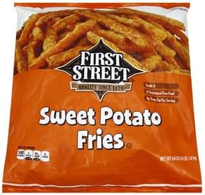 McCain Crinkle Cut, Sweet Potato Fries - 16 oz, Nutrition
