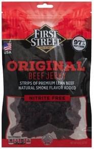 First Street Beef Jerky Original