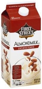 First Street Almondmilk Unsweetened