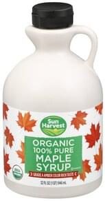 Sun Harvest Maple Syrup 100% Pure, Organic