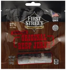 First Street Beef Jerky Original