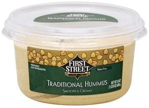 First Street Hummus Traditional, Smooth & Creamy