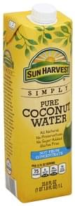 Sun Harvest Coconut Water Pure
