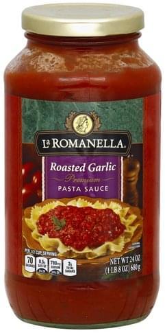 La Romanella Premium, Roasted Garlic Pasta Sauce - 24 oz